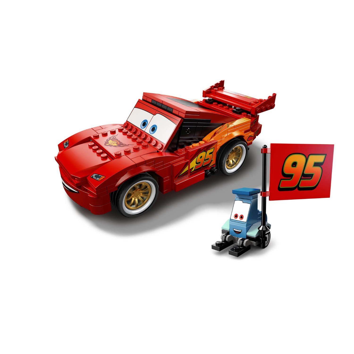 playfactory cars flash mcqueen lego. Black Bedroom Furniture Sets. Home Design Ideas